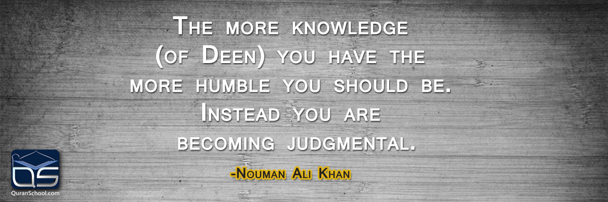 It's Time We Get Our Priorities Straight by Nouman Ali Khan